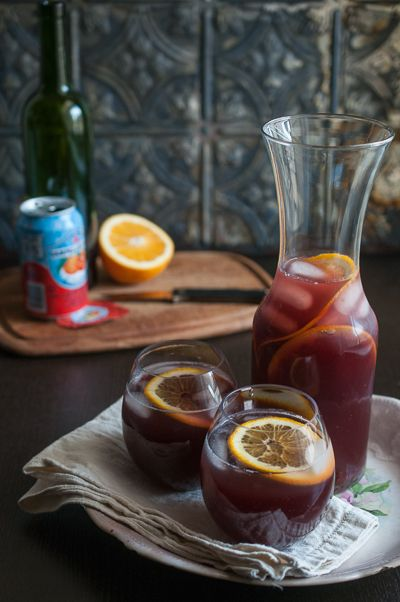 Sweet Treats: food, photography, life: Almost Instant Sangria ,à l'orange sanguine