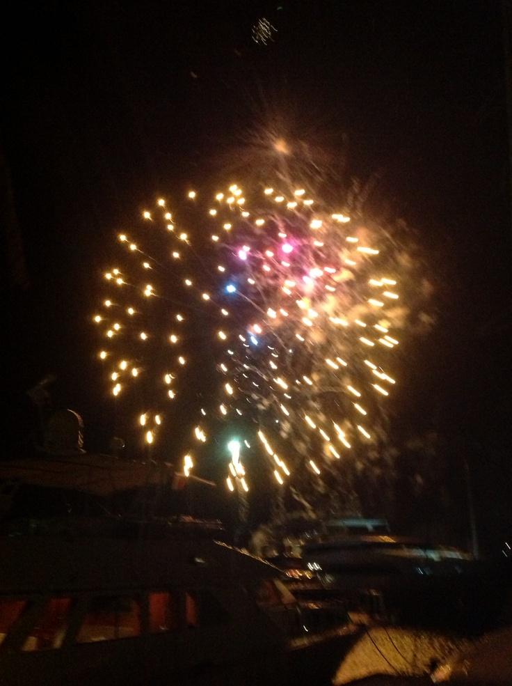 """Fuochi d' artificio per Sportur """"Eventi di Sport"""""""