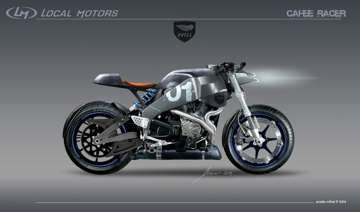 Altarf --- Buell xb12ss Cafe Racer   Local Motors