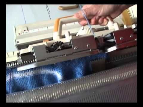 Attaching A Ribbed Neckband | My Knitting Machines And Me
