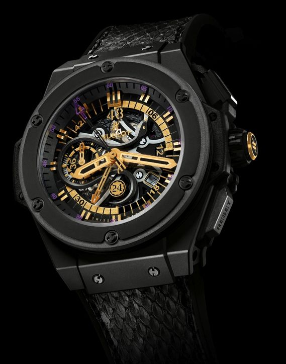 Kobe Bryant Hublot King Power Black Mamba Chronograph