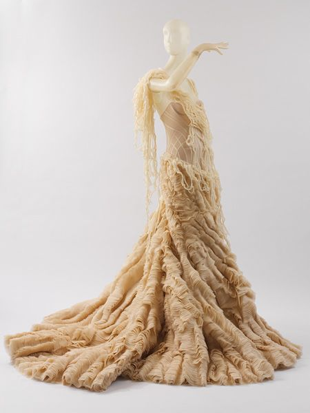 Alexander McQueen (British, 1969–2010). Dress, spring/summer 2003. The Metropolitan Museum of Art, New York. Purchase, Gould Family Foundation Gift, 2003 (2003.462)