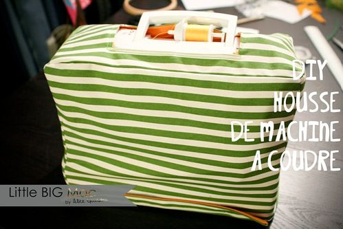 Make your own sewing machine cover.