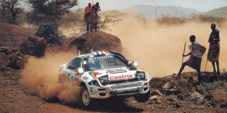 """""""It was just unbelievable. Four cars, four helicopters and more than 100 people called in just for the Safari. With hindsight, it was ridiculous. But for Japan, the Safari was so important."""" - Ove Andersson, father of Toyota Team Europe"""