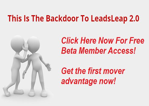 Backdoor #Beta #Member #Access - http://www.leadsleap.com/?r=cpflick Get #first mover #advantage now!