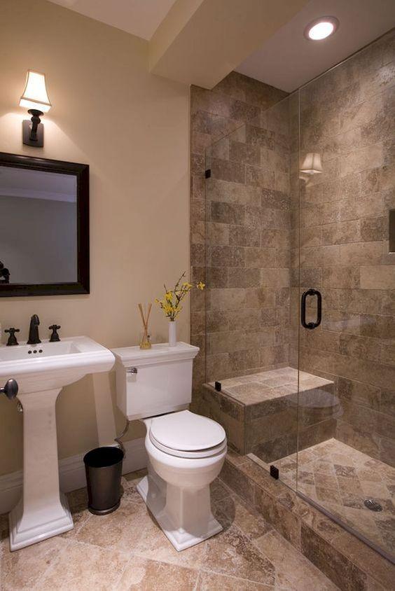 ideas de azulejos de baño, decoración de baño, diseño de baño moderno, baño pequeño … baños