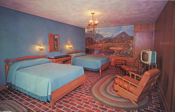 Brookside Motel & Ranch House, Gatlinburg, Tennessee