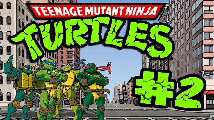 Retro Now|Teenage Mutant Ninja Turtles:Turtles in Time Stage#2|HD