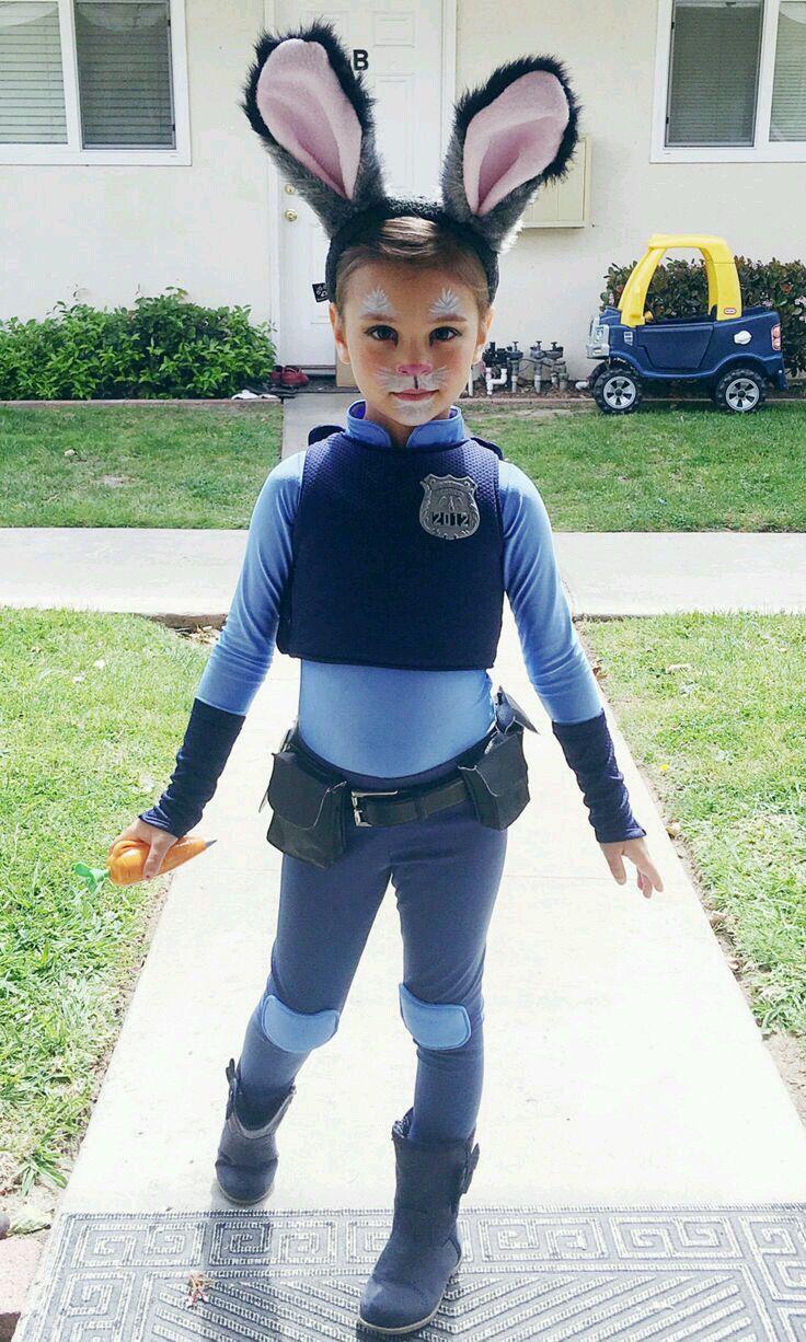 I LOVE IT!  Officer Judy Hopps from Zootopia.