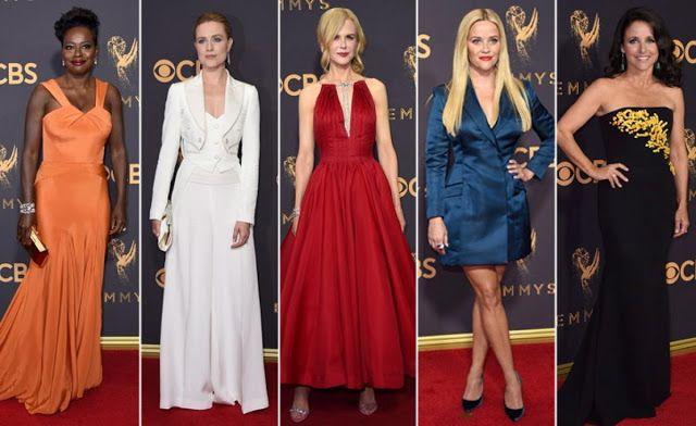 Christine: Лучшие наряды знаменитостей с премии Emmy 2017 #мода #эмми #звёзды #платья #fashion #emmy