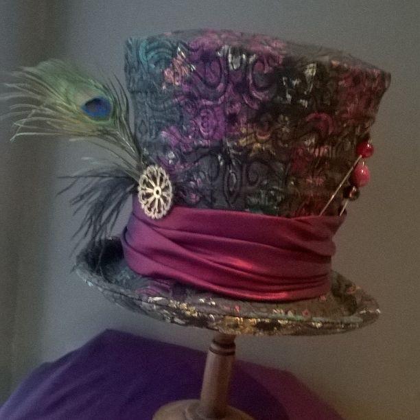 mad hatter hat chapelier fou alice aux pays des merveilles #leschapeauxdelapetitemarie @chapeauxdemarie