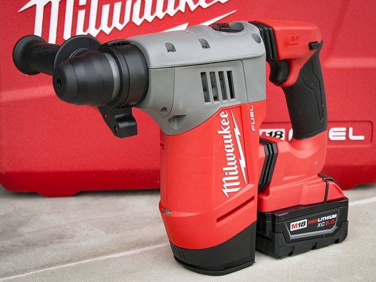 Milwaukee simply dominates all the major performance metrics in the cordless SDS-Plus category. This is the rotary hammer to buy in this class, period.   #NBHD #MilwaukeeTool #concrete #SDSPlus #rotaryhammer  https://www.protoolreviews.com/tools/power/cordless/rotary-hammers/milwaukee-m18-fuel-sds-plus-rotary-hammer-2715-22/29609/