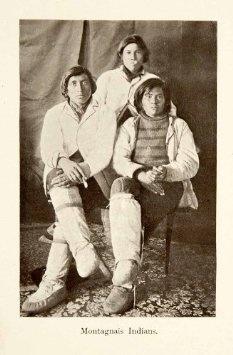 Amazon.com: 1911 Print Portrait Montagnais Indians Canada Costume Fashion Dress Native Tribe - Original Halftone Print: Home & Kitchen