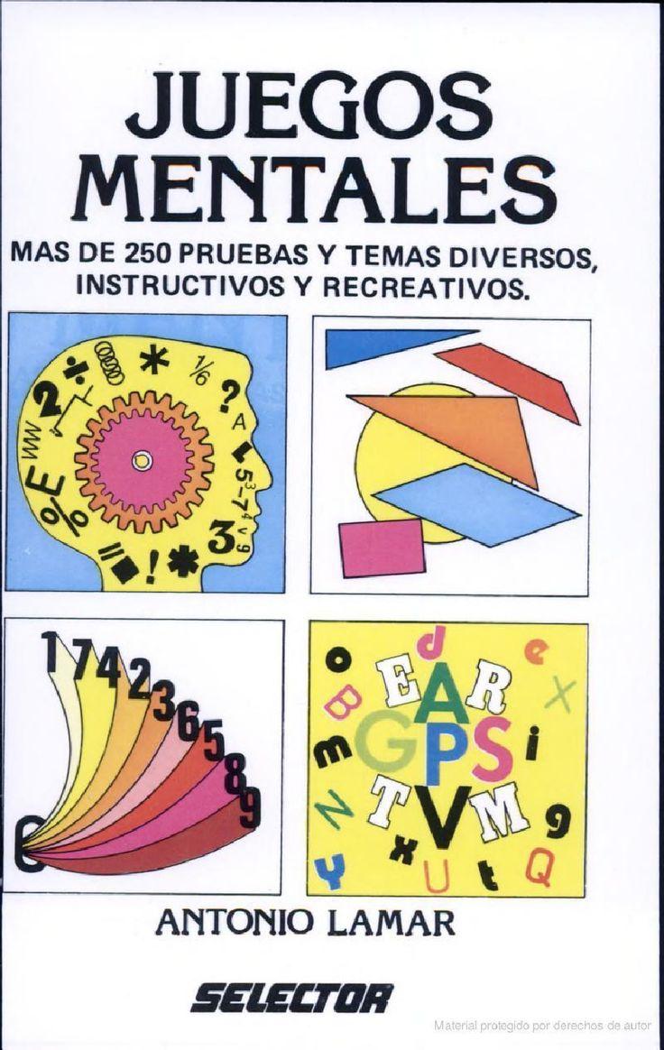 Libros y materiales educativos: Juegos mentales