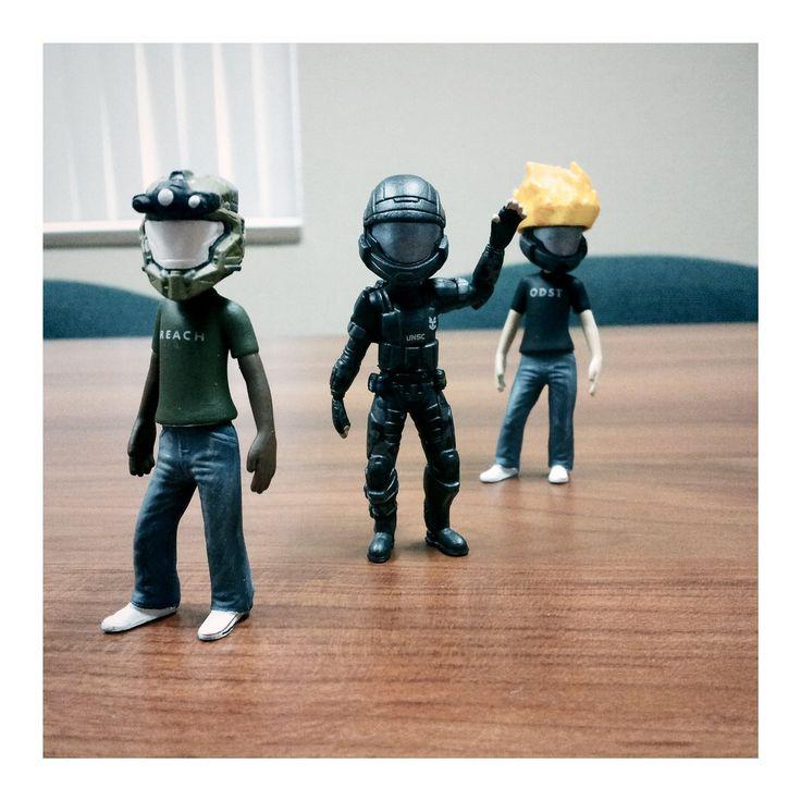 Halo Xbox Live Avatar Figurines
