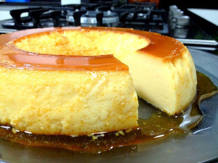 Pudim de Leite Condensado que não vai ao forno - Amando Cozinhar - Receitas, dicas de culinária, decoração e muito mais!