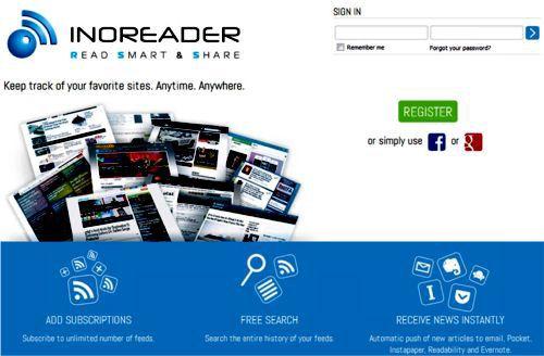 InoReader, mi alternativa a Google Reader. Recibir información actualizada de temas interesantes