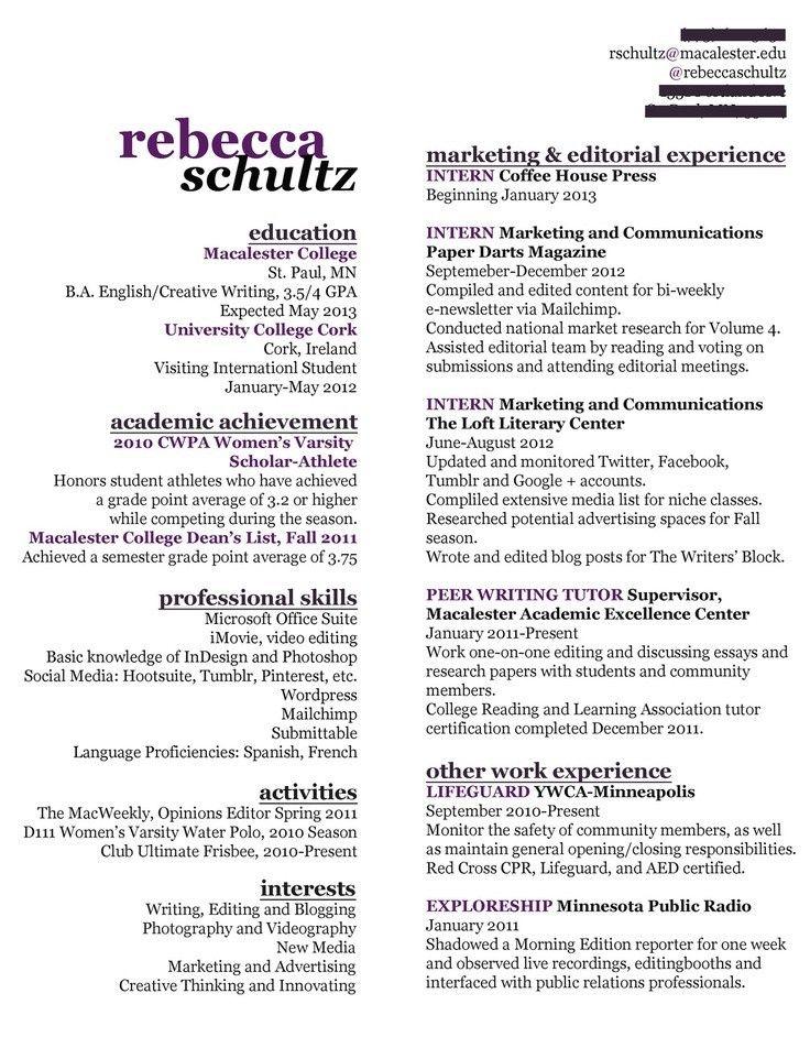 commercial artist resume