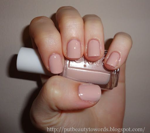 """Essie """"topless and barefoot""""- perfect neutral ...I want this so bad! Have fiji & sand tropez already."""