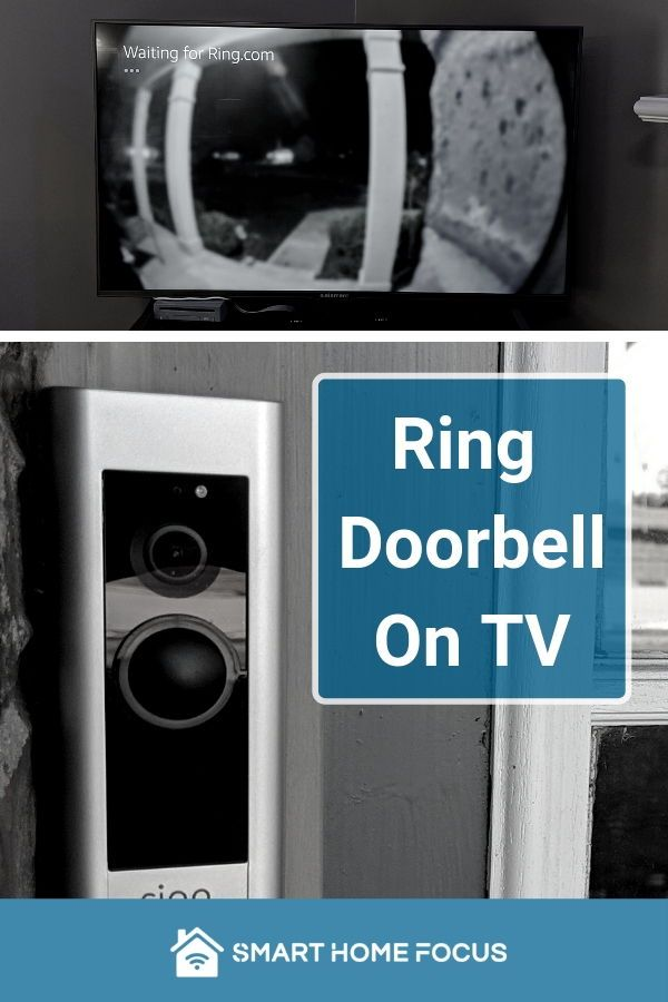 Ring Doorbell on TV | Smart Home in 2019 | Ring doorbell