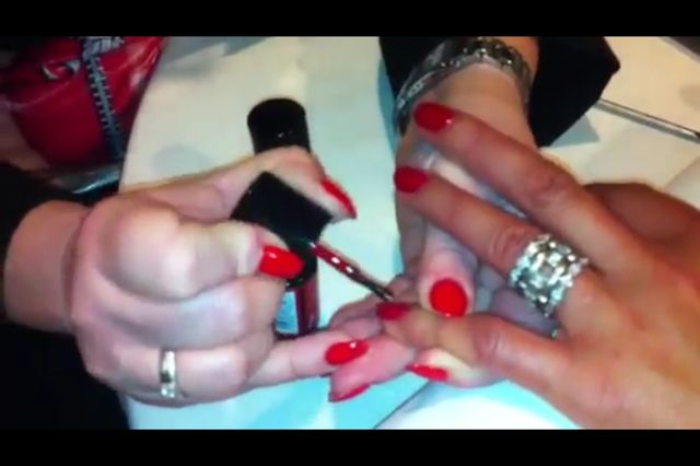 HOW TO: #StripLac, The Peel Off Professional Nail Polish  |  ModernSalon.com #alessandrointernational #alessandro