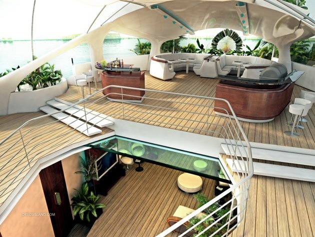 Orsos Island Yacht Interieur View