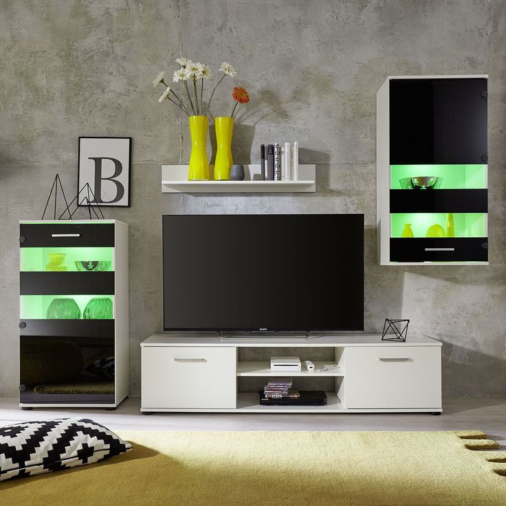 21 best Wohnwand Ideen \ mehr images on Pinterest Carpentry - wohnzimmer wohnwand weiß