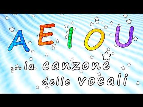 La canzone delle vocali A E I O U - Canzoni per bambini - Baby cartoons - Baby music songs - YouTube