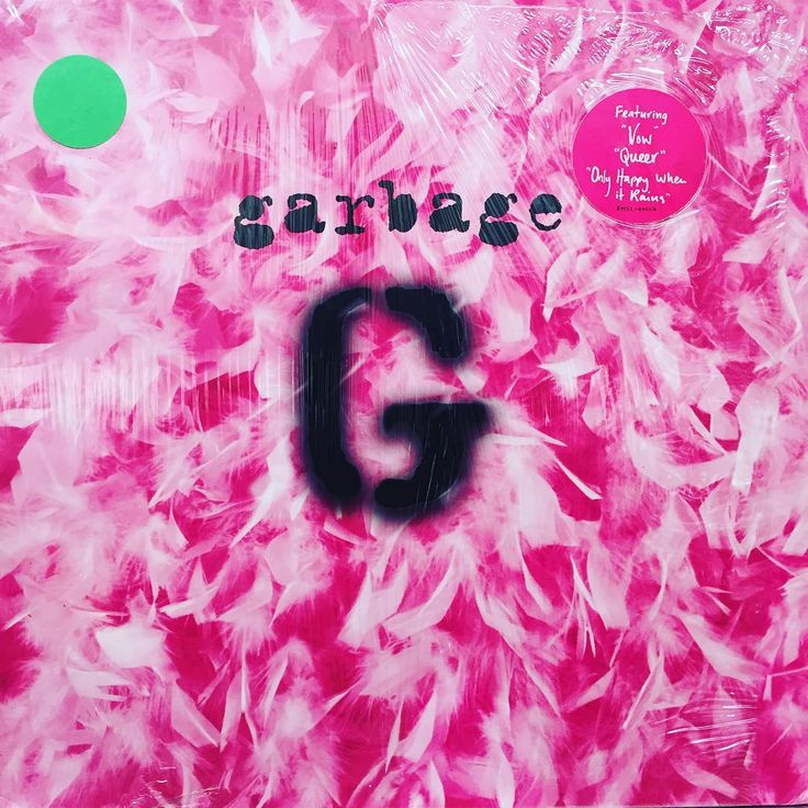 Garbage - self-titled. 1995, US. In shrink with hype sticker.