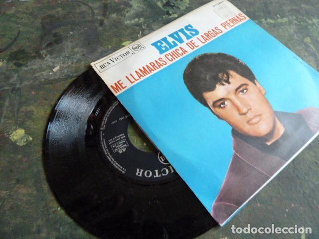 ELVIS PRESLEY -ME LLAMARAS -CHICADE LARGAS PIERNES-EDITADO EN ESPAÑA POR RCA EN 1967 (Música - Discos - Singles Vinilo - Rock & Roll)