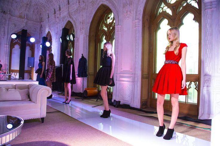 LUBLU Kira Plastinina Fall 2013 Fashion Show