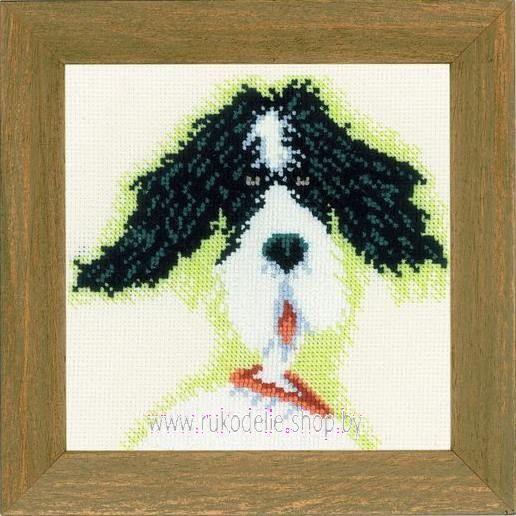 Набор для вышивки крестом Lanarte Мини-собачки PN-0021218