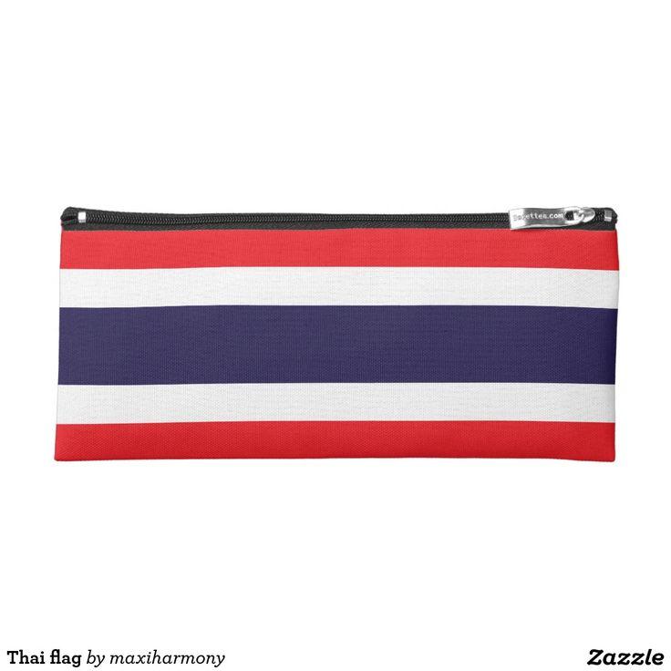 Thai flag pencil case