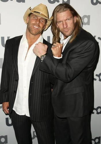 Shawn Michaels and Triple H. I adore both of these men.