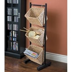 I have a.stand Just like this, I would only need to find.some.baskets or maybe crochet some!