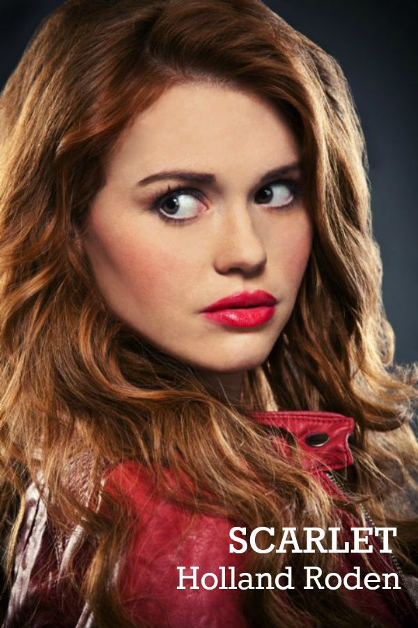Holland Roden as Scarlet in The Lunar Chronicles
