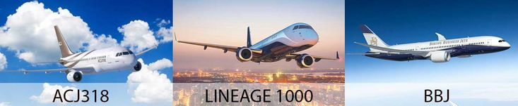 Find Your Perfect Jet: Comparing the ACJ318 Elite, Lineage 1000 and Boeing Business Jet