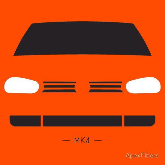 VW Golf MK4 simple front end design