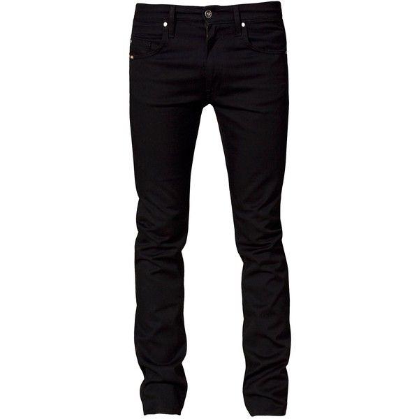 Sharp Black Jeans - Tiger Of Sweden Jeans - Svart - Jeans - Kläder man... ❤ liked on Polyvore featuring jeans, men, pants, bottoms, guy and tiger of sweden