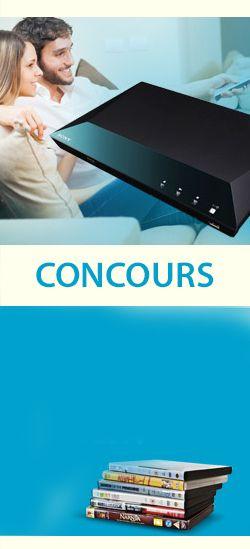 Gagnez un lecteur DVD Blu-Ray et 10 films. Fin le 31 janvier.  http://rienquedugratuit.ca/concours/gagnez-un-lecteur-dvd-blu-ray-et-10-films/