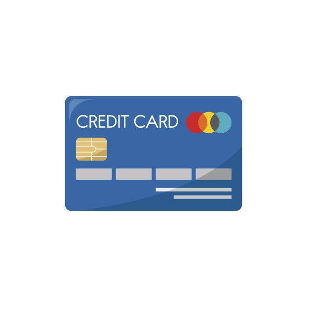 Illustration Of A Credit Card Free Vector Modern Business Cards