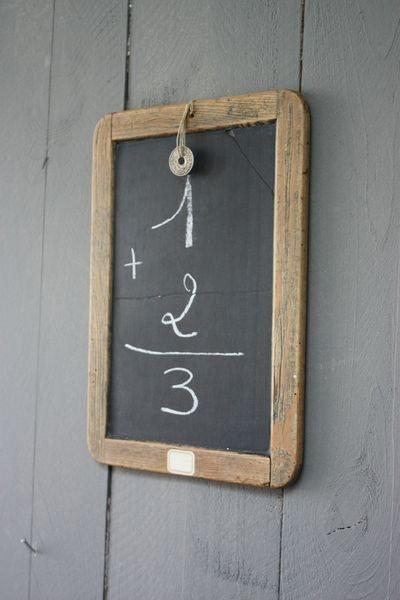 Chalk board, vintage, wall decor http://www.nomadictradingcompany.net