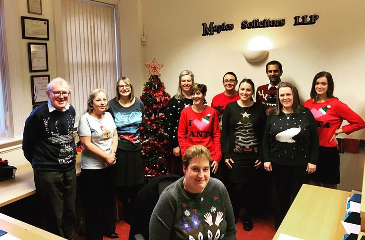 cool #national #christmas #jumper #day #xmasjumper #maplessolicitors #maples #solicit... Euro Media Check more at http://ukreuromedia.com/en/pin/38605/