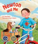 While at play with his dog, Newton, a young boy discovers the laws of force and motion in his everyday activities. Told in rhyme, Lynne Mayer's Newton and Me follows these best friends on an adventure as they apply physics to throwing a ball, pulling a wagon, riding a bike, and much more.