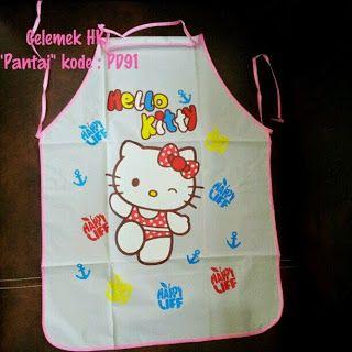Toko Cherish Imut: Celemek Masak Hello Kitty Murah  Grosir Ecer Panta...