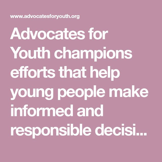 advocacy for family and youth National youth advocate program is a private, non-profit agency that has a non-negotiable commitment to do what is best for children, youth and their families.