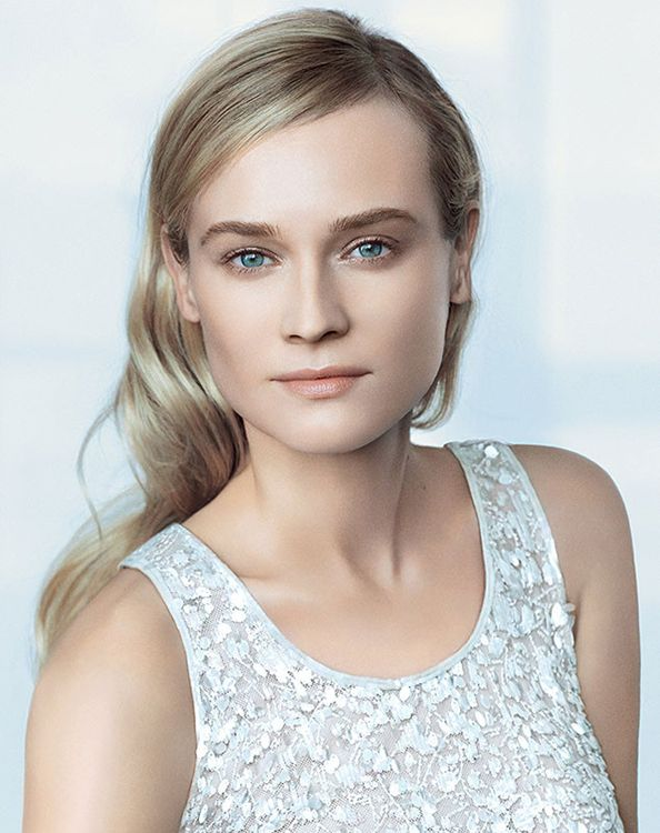 See Diane Kruger's Stunning Beauty Campaign for Chanel  #InStyle #Beauty #Vosh
