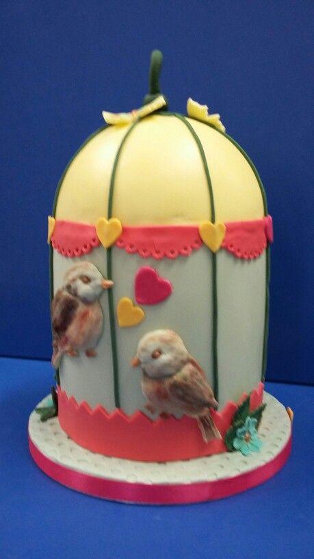Vogelkooi taart
