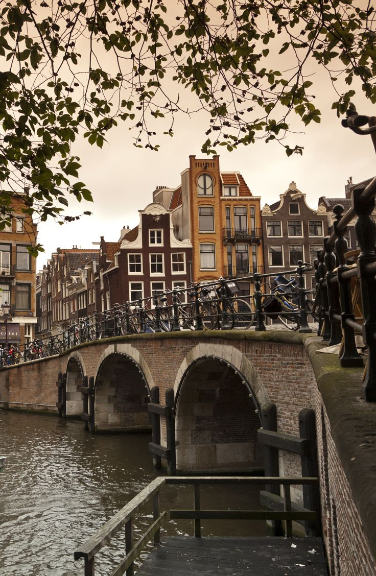 Walk through the historic Amsterdam on Day 9 of the Rick Steves Heart of Belgium & Holland tour.