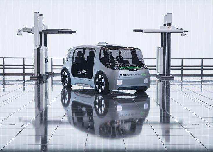 jaguar land rover debuts electric urban mobility concept